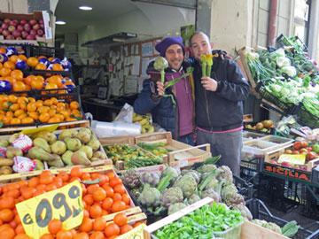Italian Vegetable Stand