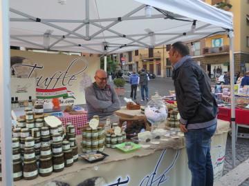 Truffle Vendor in Frascati