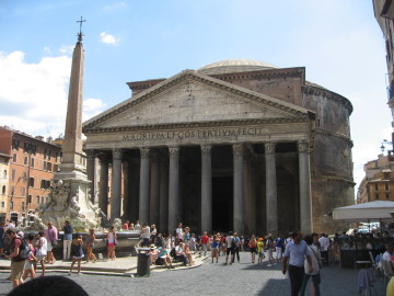 Pantheon-Rome-Casale-Sonnino